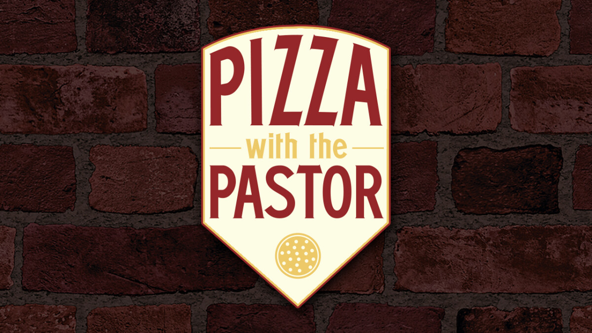 Pizza with the Pastor