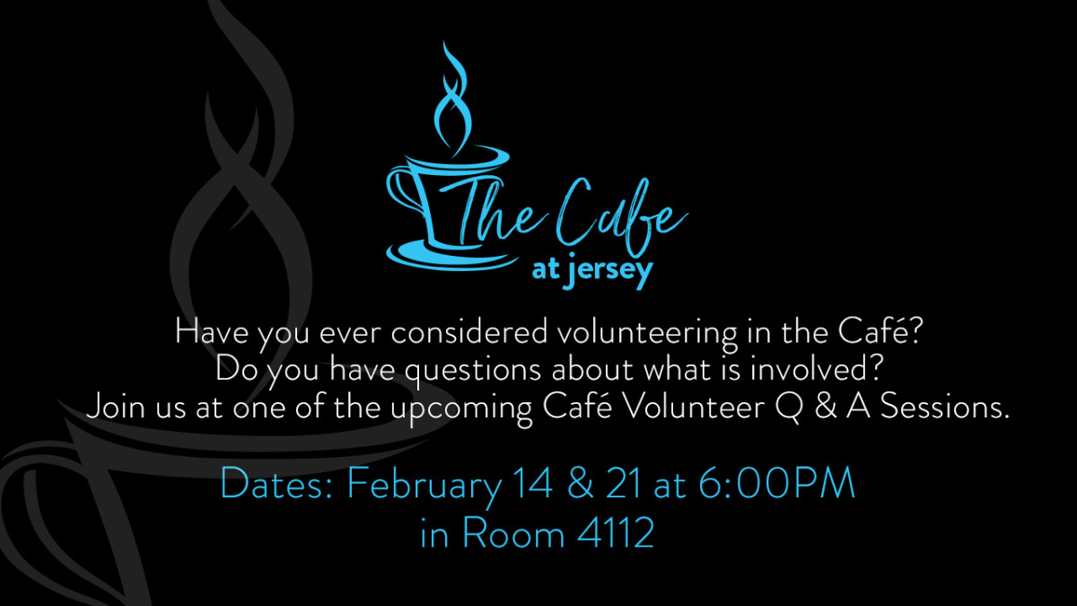 Q & A for those interested in serving in the Cafe